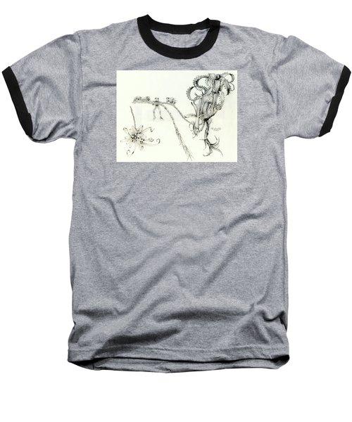 Tree Frog Hangout Baseball T-Shirt