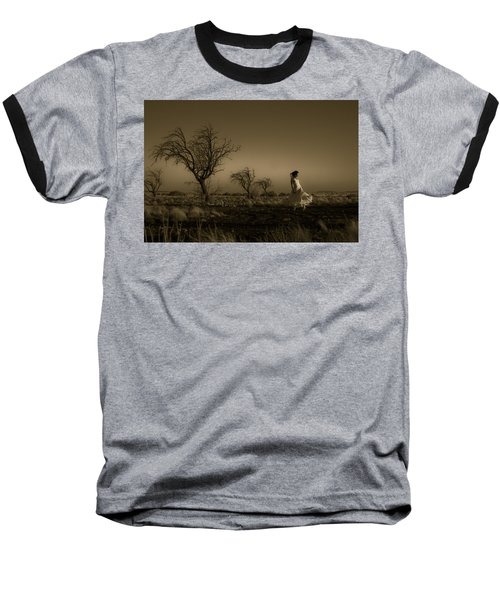 Tree Harmony Baseball T-Shirt