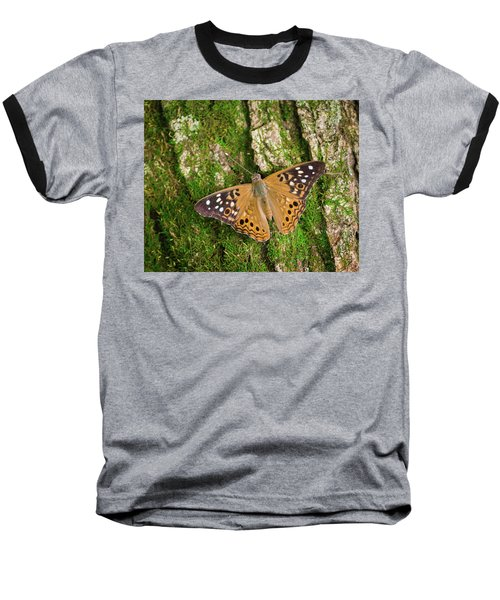 Baseball T-Shirt featuring the photograph Tree Hugger by Bill Pevlor