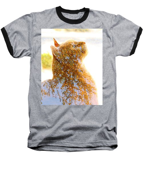 Tree In Cat Baseball T-Shirt