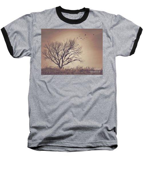 Baseball T-Shirt featuring the photograph Tree by Juli Scalzi