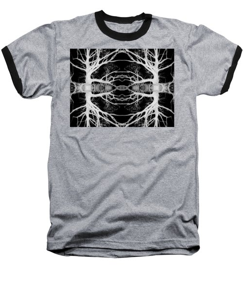 Tree Kaleidescope  Baseball T-Shirt