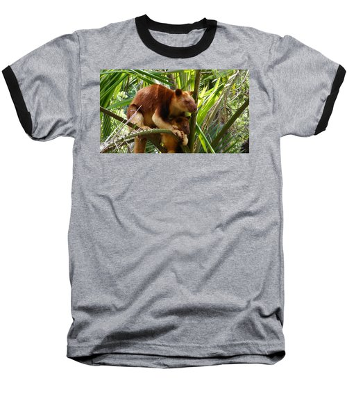 Tree Kangaroo 1 Baseball T-Shirt