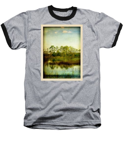 Baseball T-Shirt featuring the photograph Tree Laces by Linda Olsen