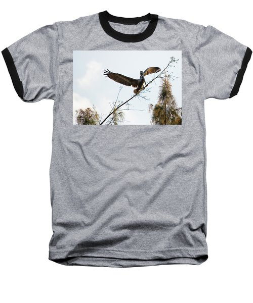 Tree Landing Baseball T-Shirt