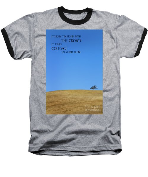 Tree Of Courage Baseball T-Shirt