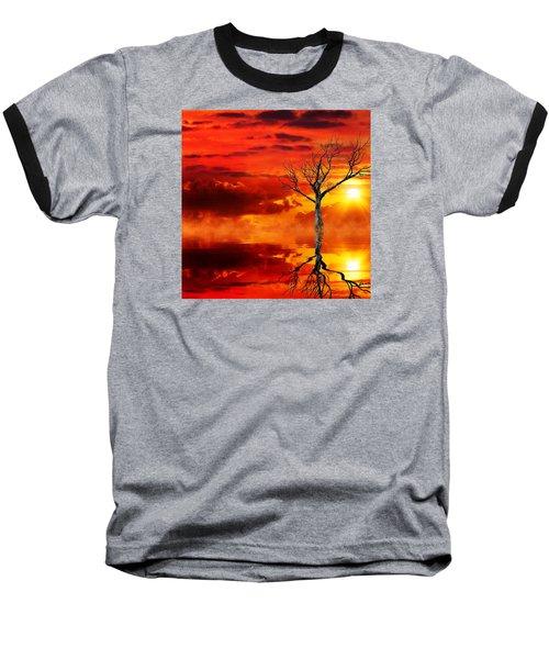 Tree Of Destruction Baseball T-Shirt