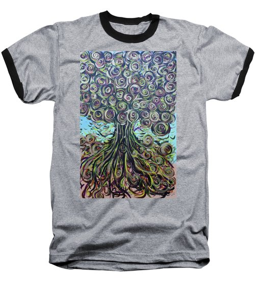 Tree Of Life- Fall Baseball T-Shirt