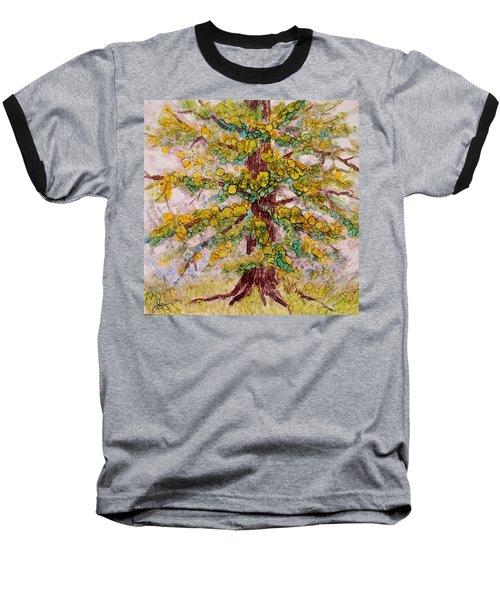 Tree Of Life Baseball T-Shirt by Joanne Smoley