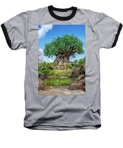 Tree Of Life Baseball T-Shirt by Pamela Williams