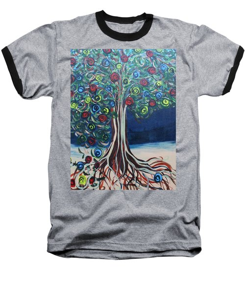 Tree Of Life - Summer Baseball T-Shirt