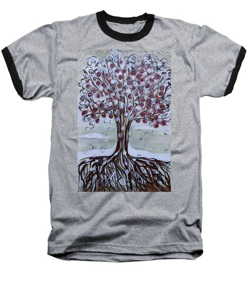 Tree Of Life - Winter Baseball T-Shirt