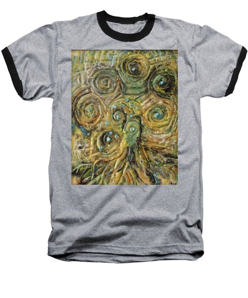 Tree Of Swirls Baseball T-Shirt