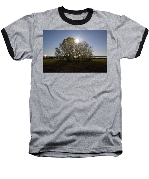 Tree Of The Night Baseball T-Shirt