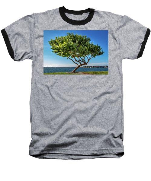 Tree On The Bay Baseball T-Shirt