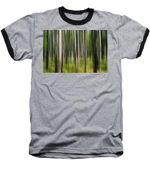 Tree Painting Baseball T-Shirt