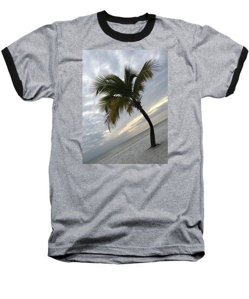 Tree Pose Baseball T-Shirt by Jean Marie Maggi
