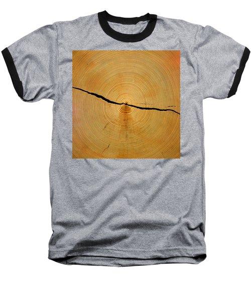 Tree Rings Baseball T-Shirt