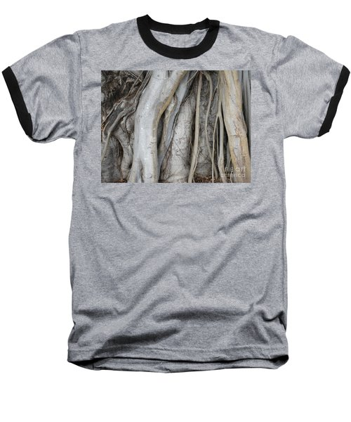 Tree Roots Baseball T-Shirt