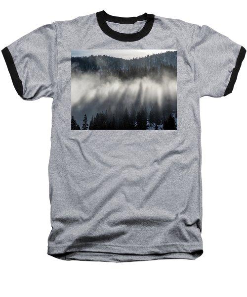 Tree Shadows Baseball T-Shirt