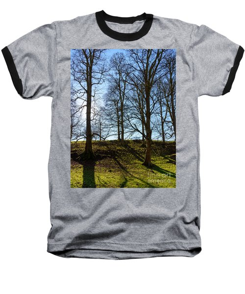 Tree Silhouettes Baseball T-Shirt
