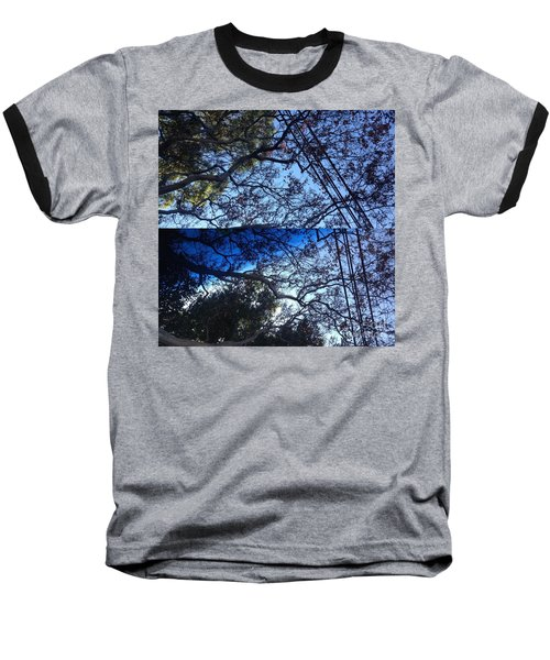 Tree Symphony Baseball T-Shirt by Nora Boghossian