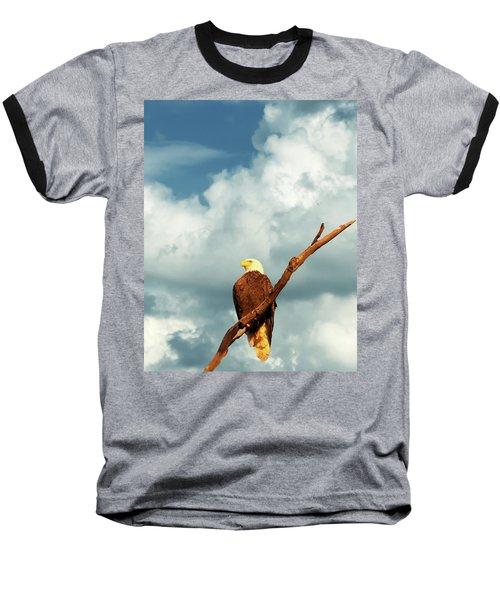 Tree Top Eagle  Baseball T-Shirt