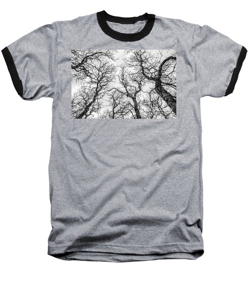 Baseball T-Shirt featuring the photograph Tree Tops by Sue Smith