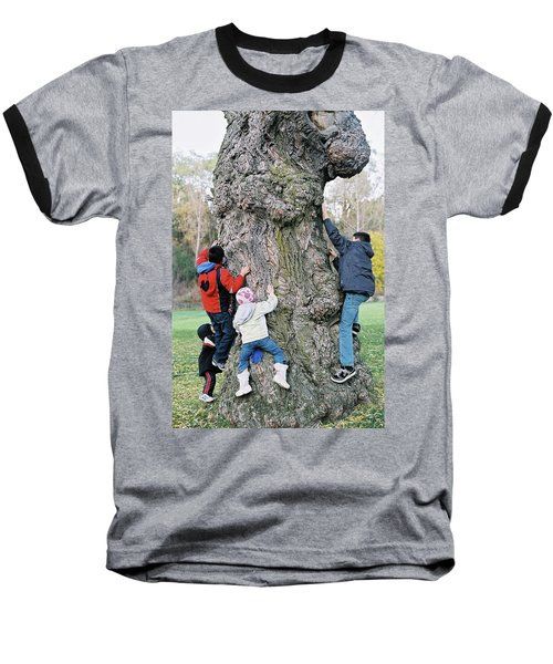 Tree Urchins Baseball T-Shirt