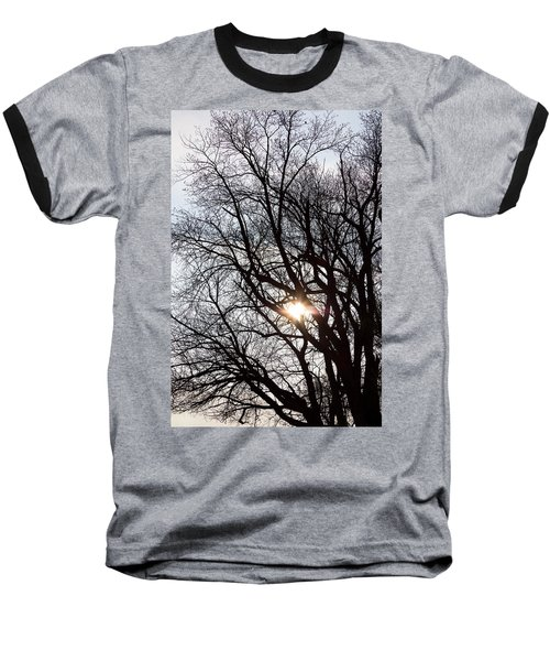 Baseball T-Shirt featuring the photograph Tree With A Heart by James BO Insogna