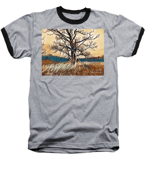Tree1 Baseball T-Shirt