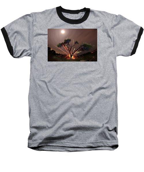 Treeburst Baseball T-Shirt by Andrew Nourse