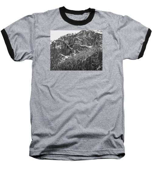 Treefall Baseball T-Shirt by Lora Lee Chapman