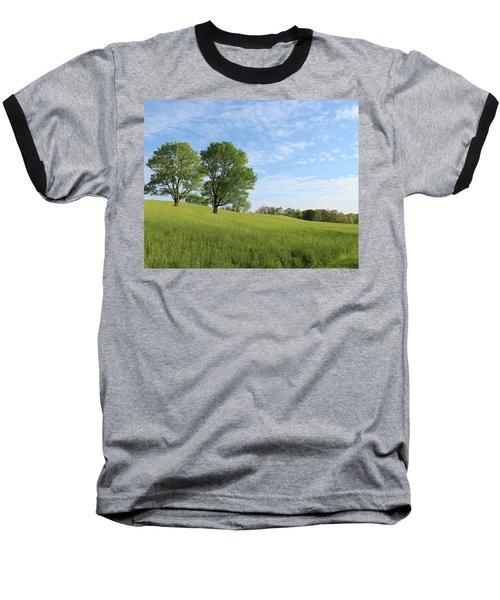 Summer Trees 3 Baseball T-Shirt