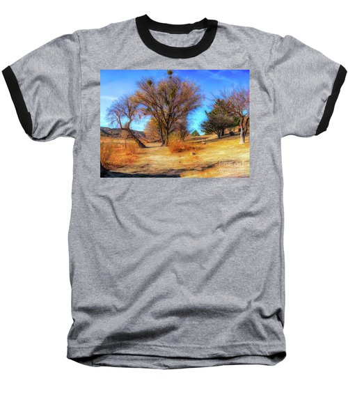 Trees Along Elizabeth Lake Baseball T-Shirt