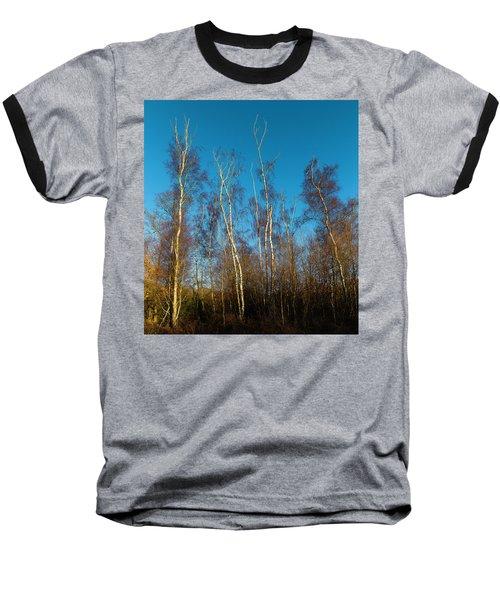 Trees And Blue Sky Baseball T-Shirt