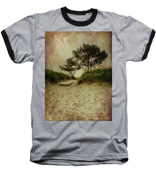 Trees By The Sea Baseball T-Shirt