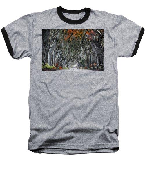 Trees Embracing Baseball T-Shirt