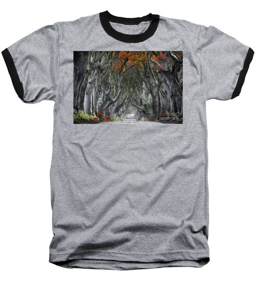 Trees Embracing Baseball T-Shirt