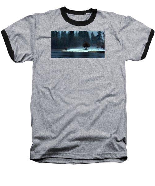 Trees On Point Baseball T-Shirt by Josephine Buschman