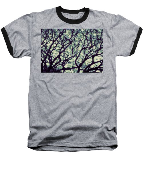 Trees Baseball T-Shirt by Ranjini Kandasamy