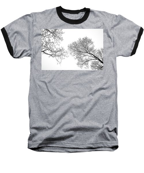 Baseball T-Shirt featuring the photograph Trees Reaching by Marilyn Hunt