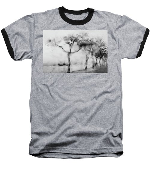 Trees Through The Window Baseball T-Shirt by Celso Bressan