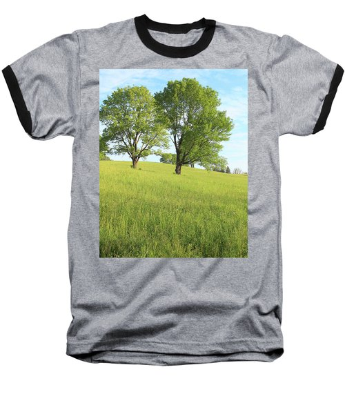 Summer Trees 2 Baseball T-Shirt