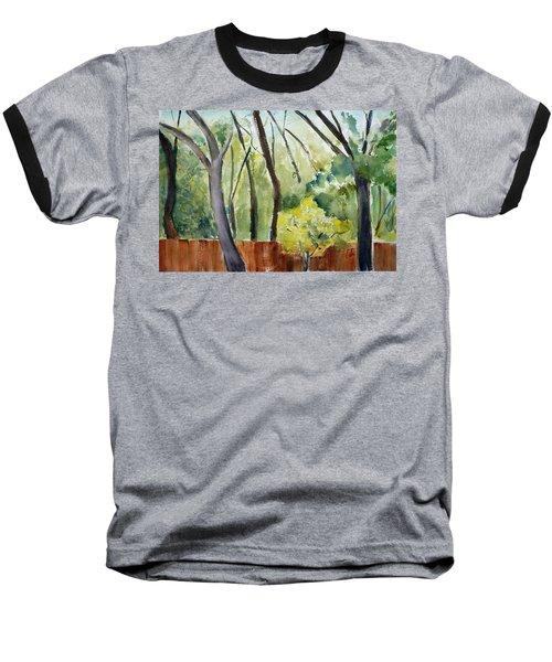 Trees1 Baseball T-Shirt by Tom Simmons