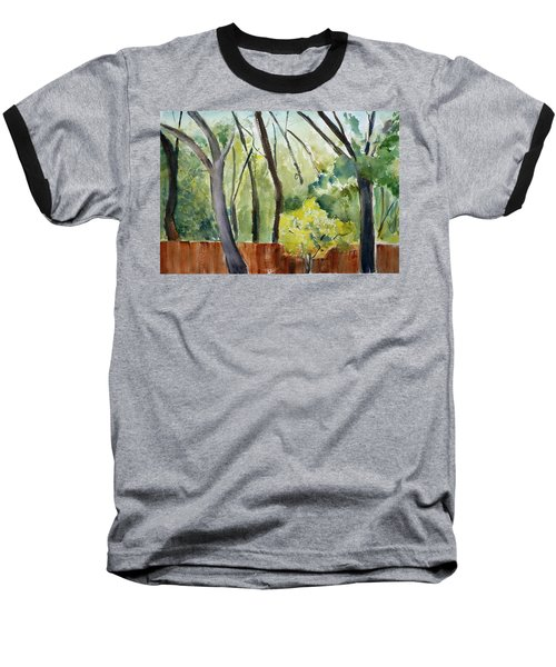 Trees1 Baseball T-Shirt