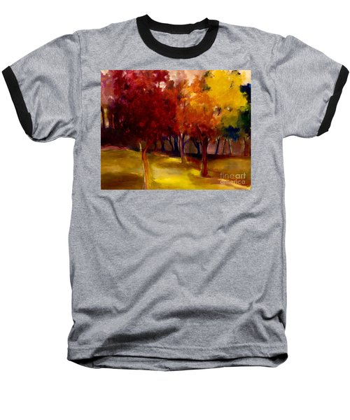 Treescape Baseball T-Shirt