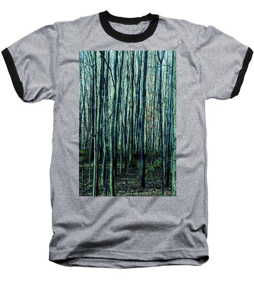 Treez Cyan Baseball T-Shirt