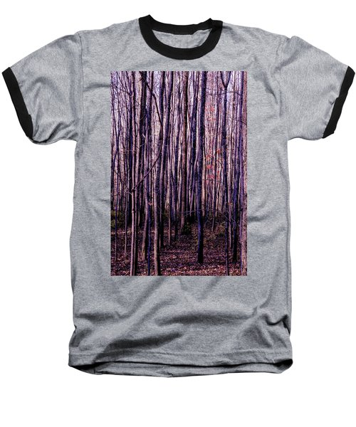 Treez Magenta Baseball T-Shirt