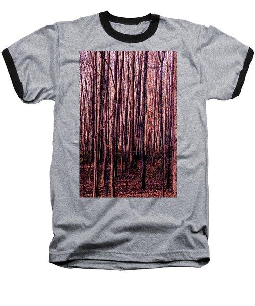 Treez Red Baseball T-Shirt